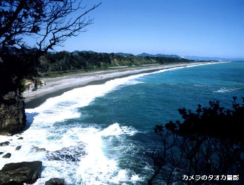 高野坂から大浜海岸�..